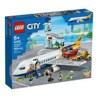 Klocki dla dzieci, 60262 SAMOLOT PASAŻERSKI (Passenger Aeroplane) KLOCKI LEGO CITY