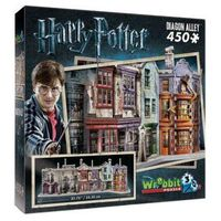 Puzzle, Puzzle 3d Wrebbit Harry Potter Diagon Alley 450