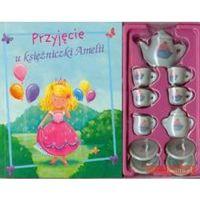 Książki dla dzieci, Przyjęcie u księżniczki Amelii (opr. kartonowa)