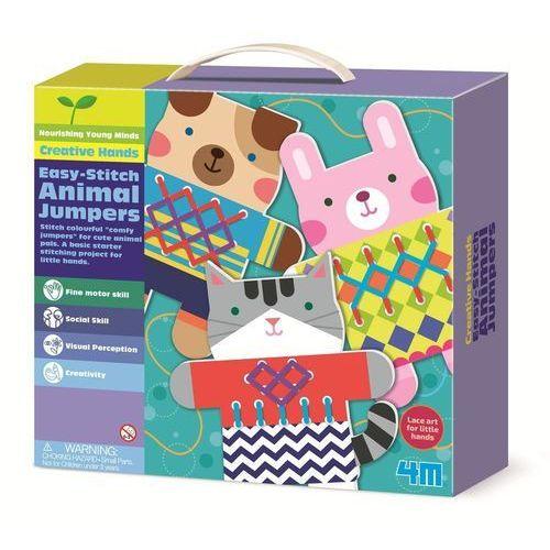Pozostałe zabawki, Moja pierwsza wyszywanka - sweterki dla zwierzaków