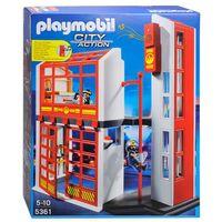 Klocki dla dzieci, Playmobil CITY ACTION Kwatera straży pożarnej z alarmem 5361 rabat 5%
