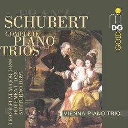 F. Schubert - Complete Piano Trios Vol.