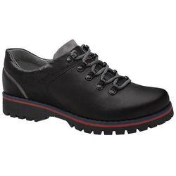 Półbuty buty trekkingowe KORNECKI 5330 Czarne - Czarny