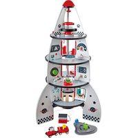 Rakiety i statki kosmiczne dla dzieci, Hape czteropiętrowa rakieta kosmiczna - BEZPŁATNY ODBIÓR: WROCŁAW!