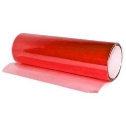Folia przyciemniająca do lamp 30x100cm czerwona