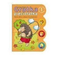 Książki dla dzieci, GRATKA PIĘCIOLATKA 1 ZESZYT Z QUIZEM DLA MALUCHÓW (opr. miękka)