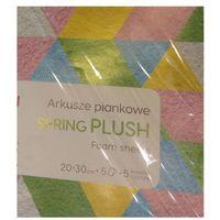 Pozostałe artykuły szkolne, Arkusze piankowe Spring Plush A4 (HA 7135 2030-SPRING)