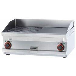 Płyta grillowa ryflowana chromowana | 795x450mm | 9000W | 800x600x(H)280mm