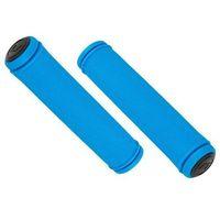Rogi i chwyty do kierownicy, Chwyty ACCENT Orion niebieski / Rozmiar: 130 mm
