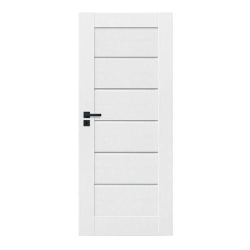 Drzwi wewnętrzne, Drzwi pełne Toreno 80 prawe kredowo-białe