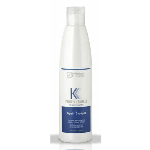Mycie włosów, Profesional Cosmetics PROTEIN COMPLEX REPAIR SHAMPOO Szampon do odbudowy struktury suchych i zniszczonych włosów (250 ml)