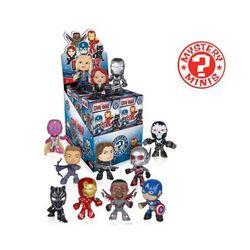 Brelok Funko Mystery Minis w ciemno - Mystery Minis Kapitan Ameryka: Wojna bohaterów