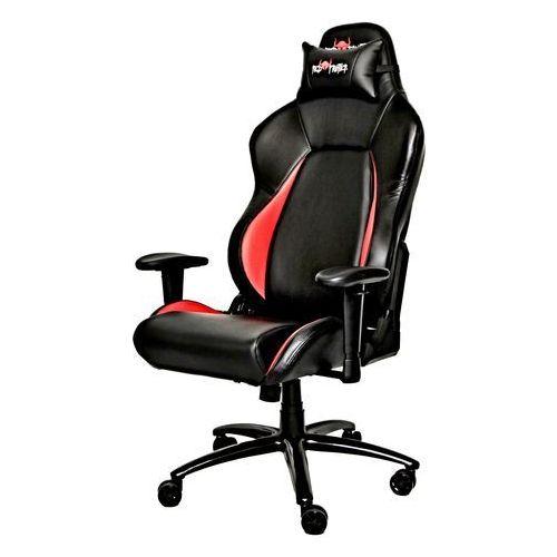 Fotele dla graczy, Red Fighter C2 fotel dla gracza czarny mechanizm kołysania