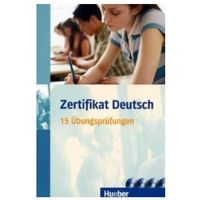 Książki do nauki języka, Zertifikat Deutsch. 15 Übungsprüfungen Übungsbuch + CD (opr. miękka)