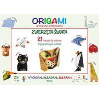 Książki dla dzieci, Origami Wycinam Składam Sklejam Zwierzęta Świata - Irene Mazza (opr. miękka)