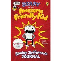 Książki do nauki języka, Diary of an Awesome Friendly Kid - Kinney Jeff - książka (opr. miękka)