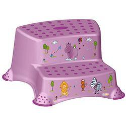 keeeper Podest dwustopniowy Hippo, fioletowy