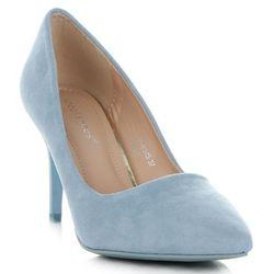 Uniwersalne Szpilki Damskie na każdą okazję marki Ideal Shoes Błękitne (kolory)