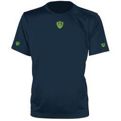 TTK CREW IRIDIUM NAVY - koszulka tenisowa R. M
