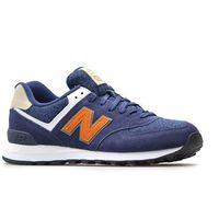 Męskie obuwie sportowe, Buty New Balance ML574 VAK Granatowe