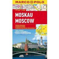 Mapy i atlasy turystyczne, Moskwa mapa 1:15 000 Marco Polo (opr. miękka)