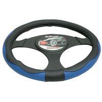 Pokrowce na kierownice, Pokrowiec na kierownicę 37-39,5 Luxury niebieski