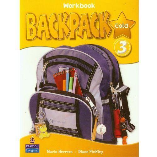 Książki do nauki języka, Backpack Gold 3 WB LONGMAN (opr. broszurowa)