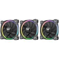 Radiatory i wentylatory, Thermaltake Riing 14 RGB LED-Wentylator TT Premium Edition - 3 szt Set - CL-F051-PL14SW-A Darmowy odbiór w 20 miastach!
