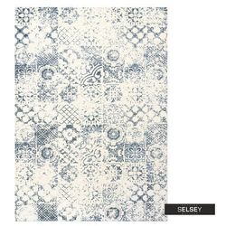 SELSEY Dywan łatwoczyszczący Nigella jasny niebieski 160x230 cm
