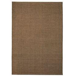 Dywan sizalowy, na zewnątrz i do wewnątrz, 80 x 150 cm, brązowy