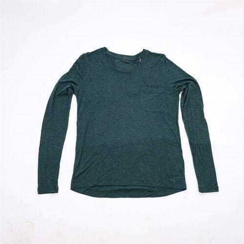 Bluzki, koszulka BENCH - Longsleeve Glitter Jersey Ponderosa Pine Marl (MA1070)