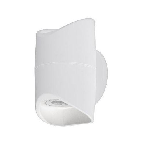 Lampy ścienne, Kinkiet Eglo Abrantes 95075 zewnętrzny lampa ścienna 2x6W LED 3000K IP44 biały