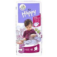 Pieluchy jednorazowe, Pieluszki Bella Baby Happy Junior (5) 12-25 kg - 42szt.