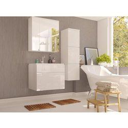 Komplet SOLENE - meble łazienkowe - Biały lakier