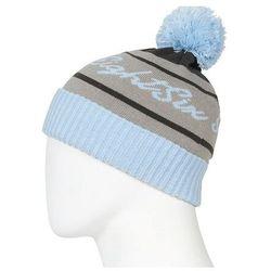 czapka zimowa 686 - Girls Chalet Pom Beanie Ice Blue (ICBL)