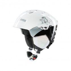 UVEX kask narciarski dziecięcy Manic - white yeti (51-55 cm)