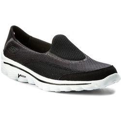 Buty SKECHERS - Go Walk 2 13590/BKW Black/White