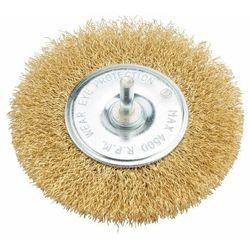 Szczotka tarczowa Universal z trzpieniem 6 mm stal śr. 100 mm