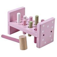 Zabawki z drewna, Kids Concept Drewniane Klocki Z Młotkiem R
