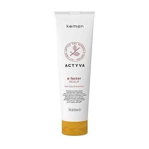 Odżywianie włosów, Kemon ACTYVA P Factor scalp, kuracja przeciw wypadaniu włosów 150ml