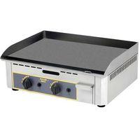 Grille gastronomiczne, Płyta grillowa gazowa, 2 strefy grzewcze, 620x450x190 mm | ROLLER GRILL, 777174