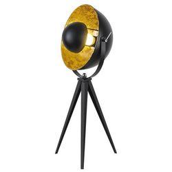 Lampa podłogowa Rabalux Nataniel 4139 lampa stojąca 1x25W E27 czarny / złoty