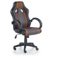 Fotele dla graczy, Fotel dla gracza, gamingowy HALMAR RADIX pomarańczowy