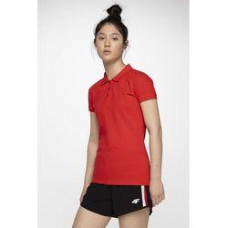 Koszulka polo damska TSD051 - czerwony