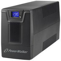 UPSy, Zasilacz awaryjny UPS Power Walker Line-Interactive 800VA SCL 2xPL RJ11/45 In/Out, USB, LCD