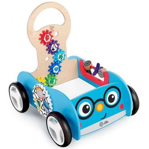 Zabawki z drewna, Hape Baby Einstein drewniana zabawka aktywny pojazd Discovery Buggy