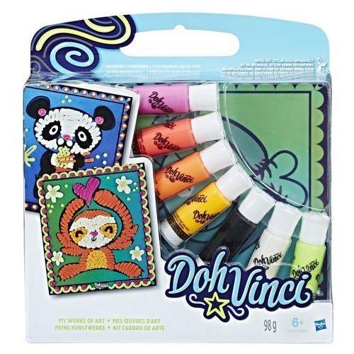 Kreatywne dla dzieci, DohVinci My Works Of Art Zwierzeta - Hasbro