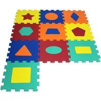 Puzzle, 10 elementów Puzzle piankowe Kształty
