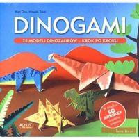 Książki dla dzieci, Dinogami. 25 modeli dinozaurów - krok po kroku - Ono Mari, Takai Hiroaki (opr. miękka)
