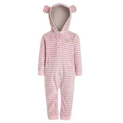 Steiff Collection OVERALL 1/1 ARM BABY NEWBORN WINTER COLOR Kombinezon pink nectar rose